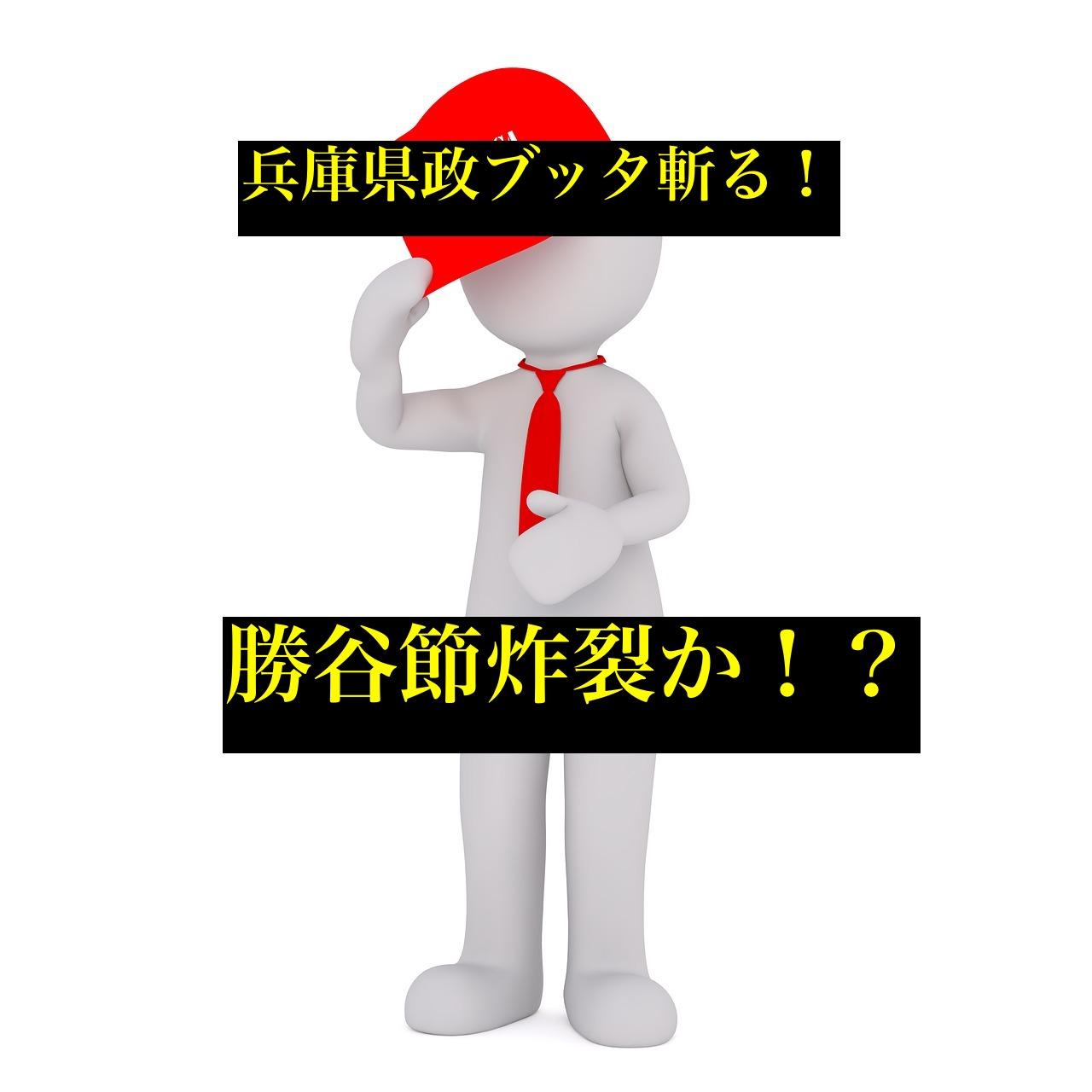 勝谷誠彦兵庫県知事選挙立候補